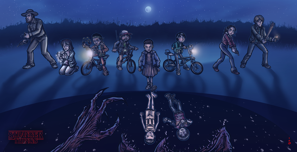Stranger Things fanart by petipoa on DeviantArt