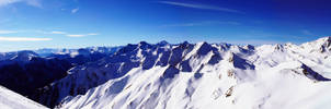 Tirol mountain panorama
