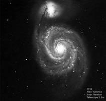 SN 2011DH by astrofireball