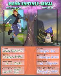 PKMN Fantasy-High App: Lucas and Foo