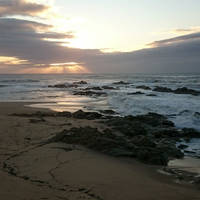 Sunset at the Atlantic