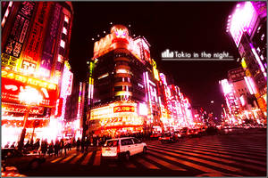 Toyko in the night 02
