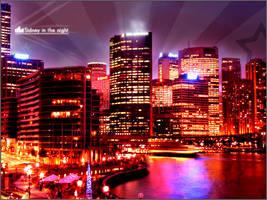 Sydney in the night 02