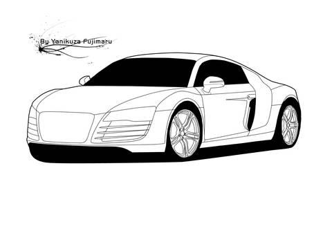 Vector Audi R8 Le Mans