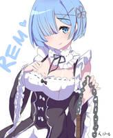 Re:Zero Rem by BerryCakeroll
