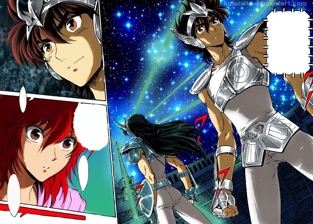 Resultado de imagen para saintia sho manga color