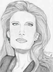 Angeline Jolie by rafhaelr