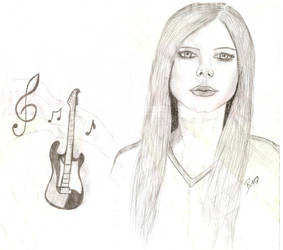 Avril Lavigne by rafhaelr