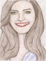 Desenho colorido - ildi silva by rafhaelr