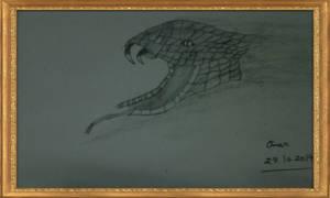 A Snake From Darkness by omariftekhar