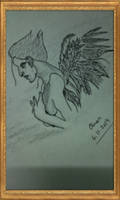 A Weeping Angel by omariftekhar