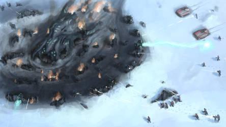 Planetside 2 Alien Wreckage