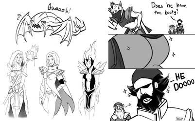 More Dota 2 Doodle