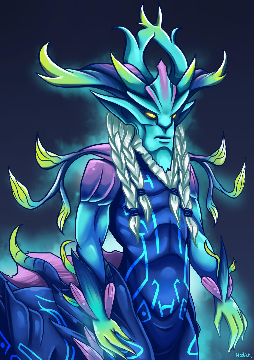 dota 2 oath of the ethereal guardian by kisetsukaze on deviantart