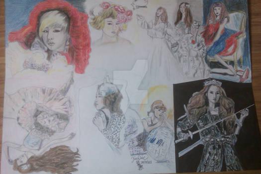 Ladies in Fairytales