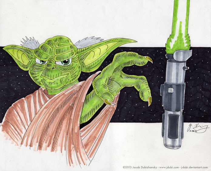 Yoda by J-Dubi