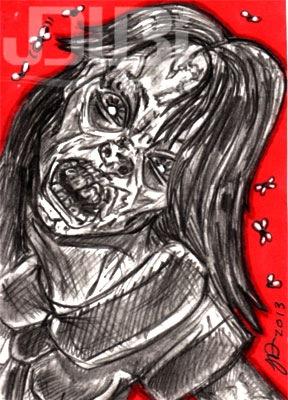 Zombiegirl by J-Dubi