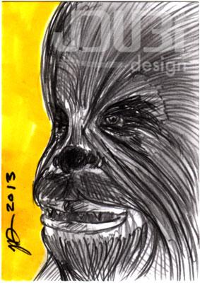 Chewbacca by J-Dubi