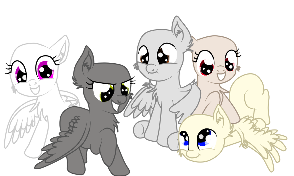 MLP Base Pegasus By TalinTheKiller On DeviantArt