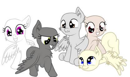 MLP: Base Pegasus by TalinTheKiller