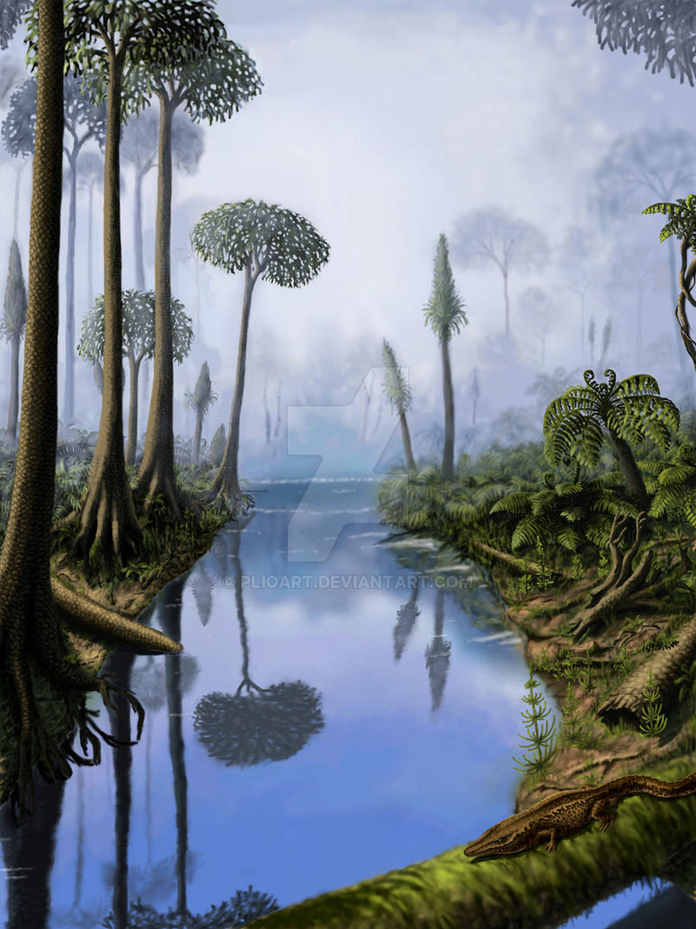 Carboniferous Period By Plioart On Deviantart