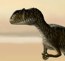 Yangchuanosaurus by Plioart