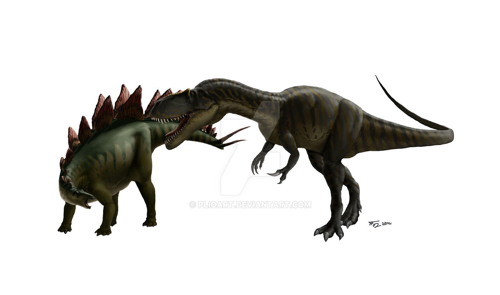 Resultado de imagen para torvosaurus vs dryosaurus