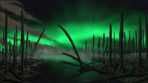 Polar night.