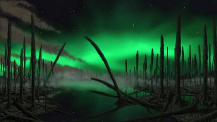 Polar night. by Plioart