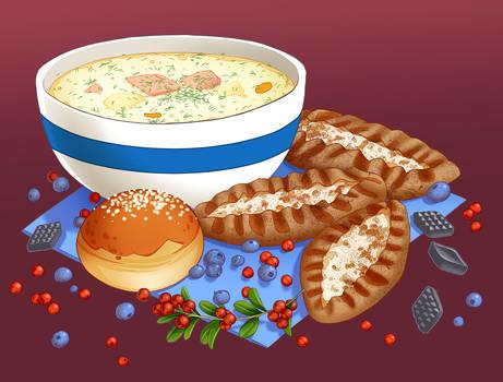 suomen ruokaa
