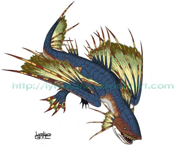 monster hunter plesioth by LynxKano