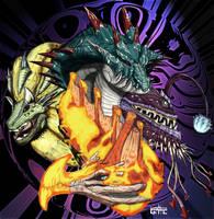 Monster Hunter Leviathans by LynxKano