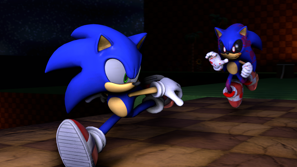 fleetway sonic vs sonic exe - photo #27