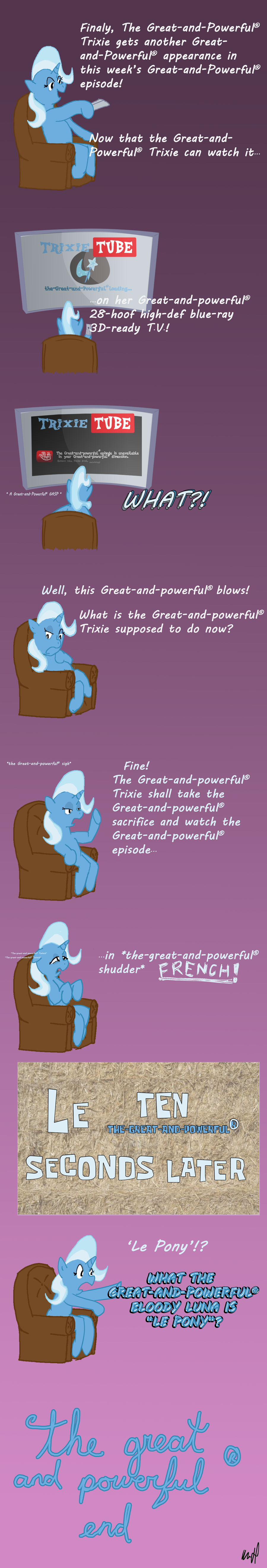 The Great and Powerful (r) comic by Fundz64