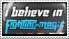 I BELEIVE FIGHTINGisMAGIC (stamp) by Fundz64