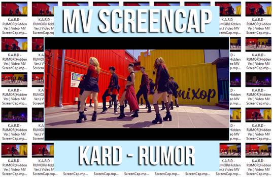 KARD - RUMOR (Hidden Ver.) MV ScreenCap by memiecute