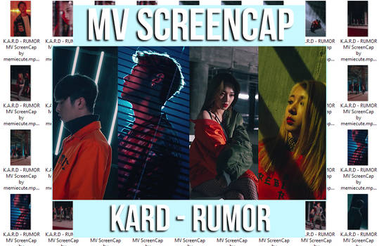 KARD - RUMOR MV ScreenCap by memiecute