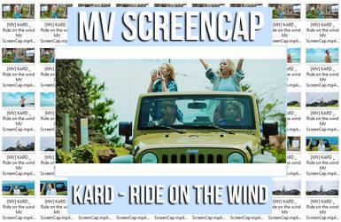 KARD - Ride on the wind MV ScreenCap by memiecute