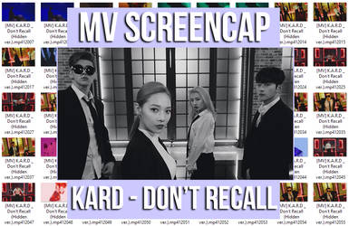 KARD - Don't Recall (Hidden Ver) MV ScreenCap by memiecute