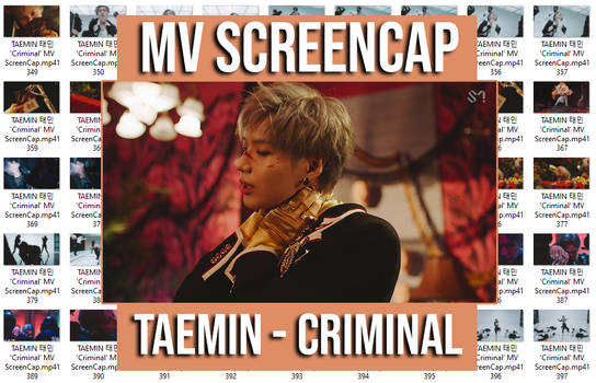 TAEMIN - Criminal MV ScreenCap