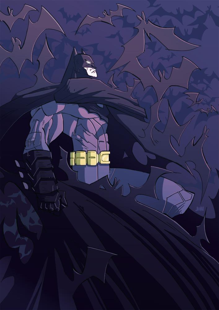 Batman New 52 Symbol Wallpaper