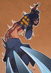 +COMMISSION+ - Wolverine by J0N-Lankry