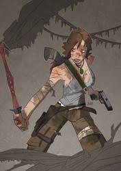 Tomb Raider by J0N-Lankry