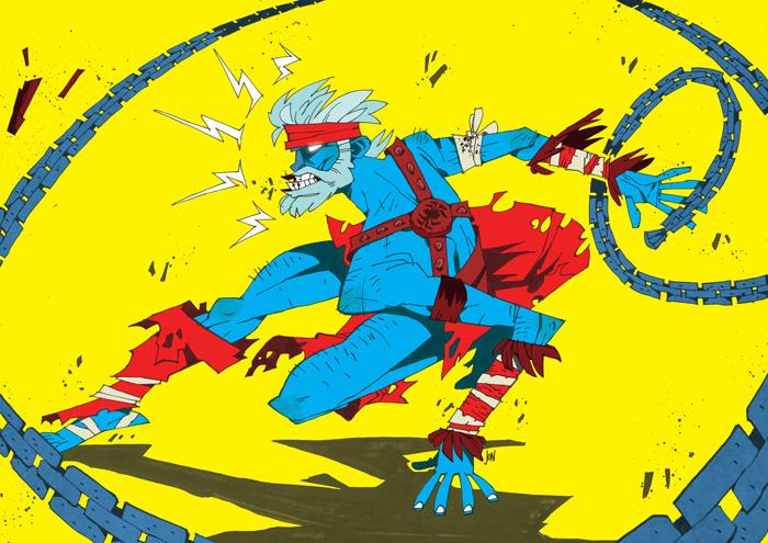 Barbarian Spider-Man by J0N-Lankry