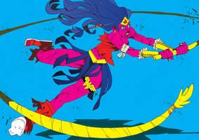 Barbarian Wonder Woman by J0N-Lankry