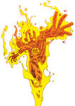 Human Torch by J0N-Lankry