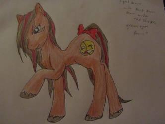 my beautiful friend as a pony