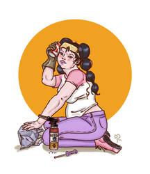 Curvy girls Fanart - Keiko