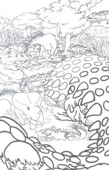 Dragon n' Griffon Mud Wallow