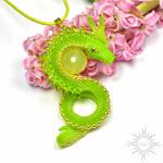 Afaeth dragon pendant